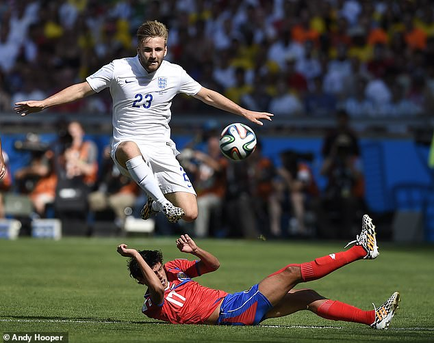 Shaw played for England at the 2014 World Cup but his international career never took off