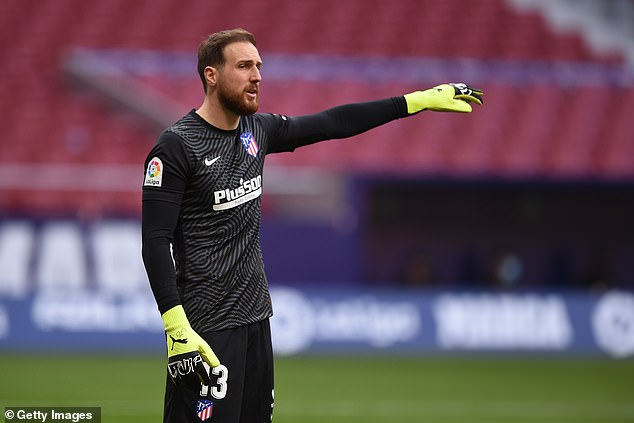 Atletico Madrid's Jan Oblak is reportedly a summer transfer target for Manchester United