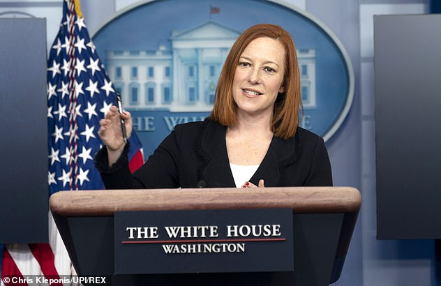 White House press secretary Jen Psaki on Friday said that Biden's first solo appearance before reporters will take place by the end of the month