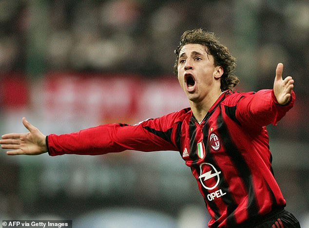 Hernan Crespo stole the tie in 2005, scoring in the first and second leg to put Milan through