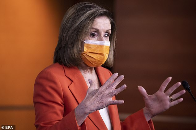 Speaker Nancy Pelosi slammed Republicans for focusing on immigration during the pandemic,quipping that since Dr. Seuss didn't work as a distraction from the COVID relief plan, they had to try another approach