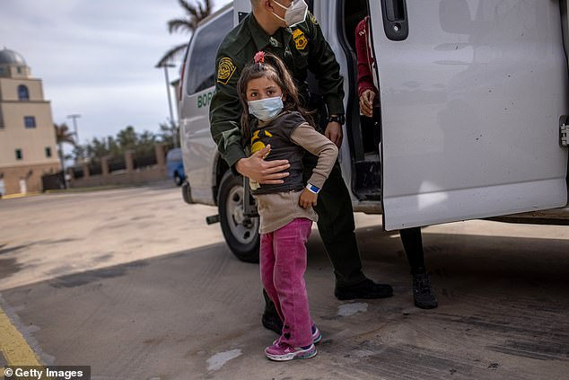 Republicans also are attacking President Biden about the situation at the border, which the administration has repeatedly refused a 'crisis,' as the number of crossing is on the rise