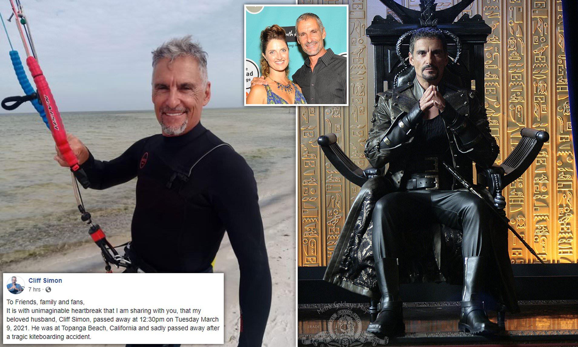 https www dailymail co uk tvshowbiz article 9354071 stargate sg 1 actor cliff simon dies kiteboarding accident 58 html