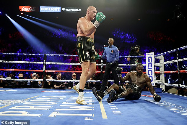 Fury has not been in the ring since beating Deontay Wilder in their rematch in February 2020