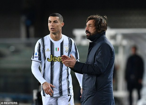 Ronaldo's £ 28 million annual salary makes him one of the top earners on Andrea Pirlo's team