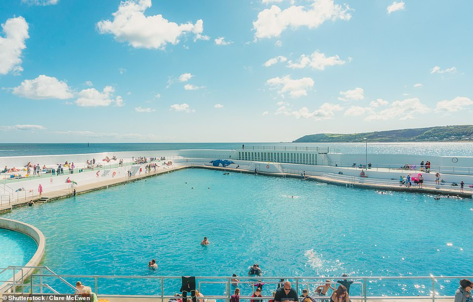 On your marks: General admission tickets for Jubilee Pool in Penzance, above, are on sale now via its website