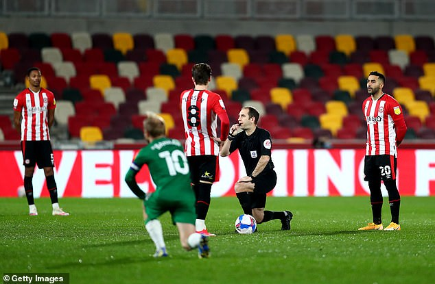 Brentford are one of several Championship clubs to have stopped the gesture before games