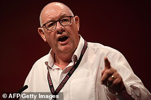 CWU general secretary Dave Ward praised BT's thousands of workers who have worked throughout the pandemic