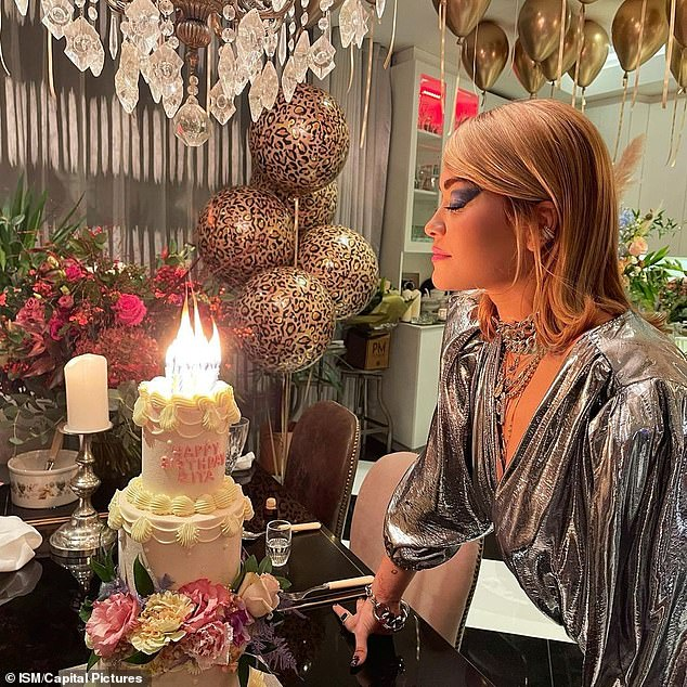Uh oh: The singer hit headlines late last year when she went against strict quarantine rules to hold a 30th birthday party at Notting Hill's Casa Cruz (pictured) following a trip to North Africa
