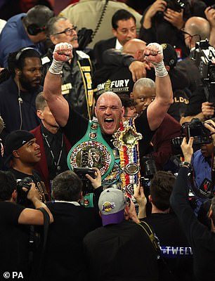 Fury holds the other major title, the WBC, meaning their fight would determine the undisputed champion