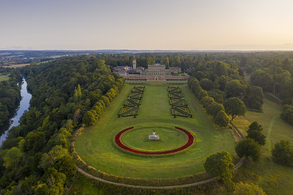 For couples really wanting to splash the cash, they could book out the entire Cliveden country house hotel in Berkshire, pictured