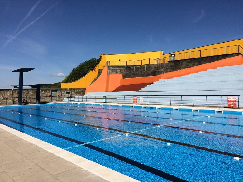The 33m Portishead Open Air Pool in North Somerset, which attracts close to 50,000 visitors each season