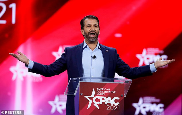 Donald Trump Jr on Monday slammed the CBS television network for suspending the live broadcast of The Talk while the network investigates last Wednesday's on-air dust-up between co-hosts Sharon Osbourne and Sheryl Underwood