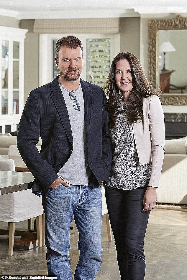 Sold!Boost Juice founders Janine and Jeff Allis have sold their Toorak mansion just one day after it officially hit the market. Both pictured