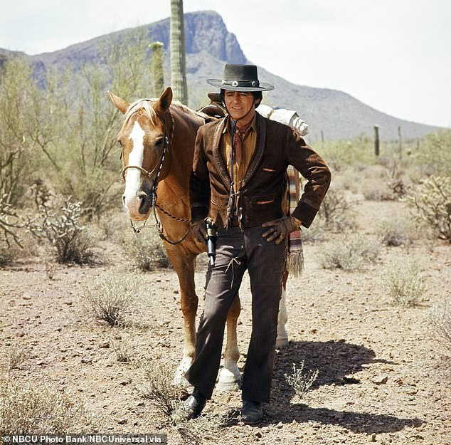 Western vibe: The NBC show was a an American Western action adventure set in the 1870s that aired from 1967 until 1971