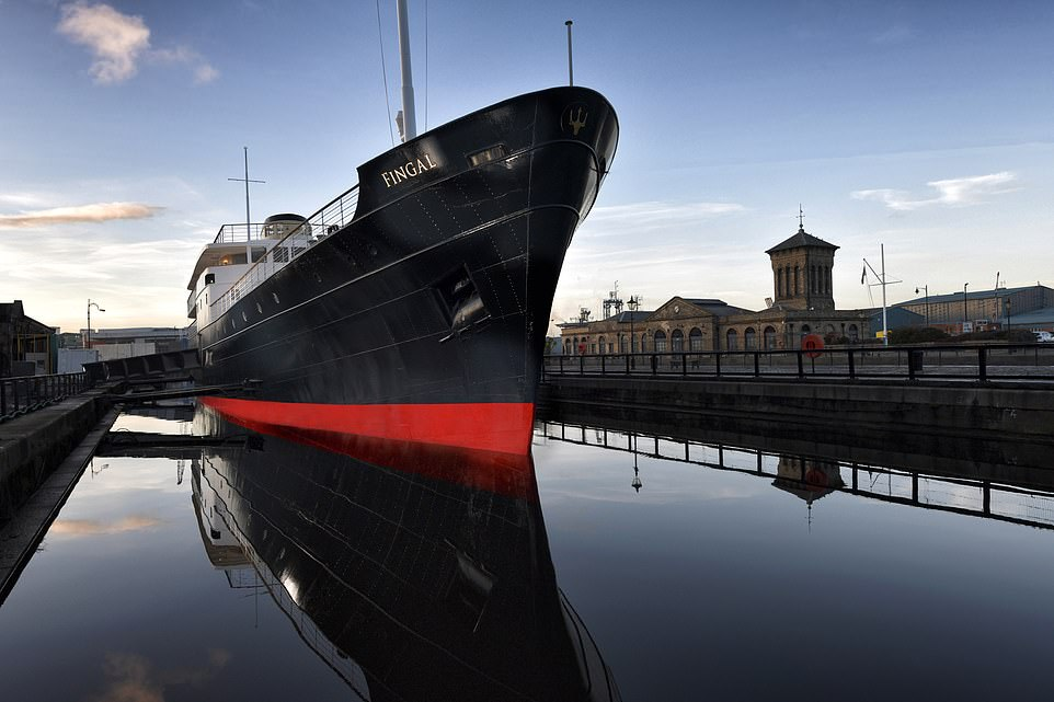 Couples can take to the water by getting married on the former Northern Lighthouse Board ship Fingal, which is in Edinburgh's port of Leith