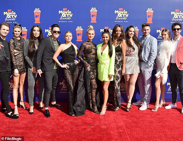 Vanderpump Rules returning? Now that things are opening back up, fans are eager to know when and if Rules will resume filming - but Lisa revealed that the future of the series is really in the hands of the network (Pictured the 2019 cast)