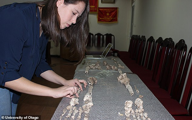 Researchers studying 7,000-year-old bones from Vietnam found evidence of genetic mutations linked to malaria, suggesting humans were combatting the parasite before switching from hunting-gathering to farming