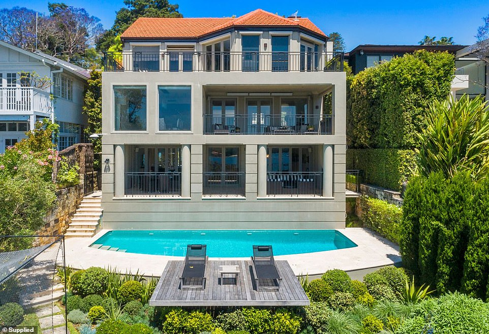 Originally designed by renowned architect Susan Rothwell, the house has a sparkling infinity pool and enormous floor-to-ceiling windows