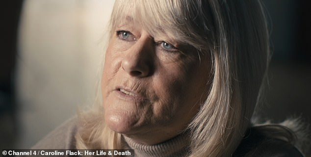 'All the times you miss with someone': In the Channel 4 film, Caroline's mum Christine shared her regret over not spending more time with her daughter when she had the chance