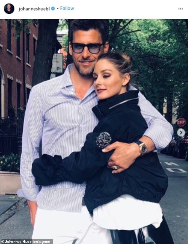 Influencers: The socialite is married to German model Johannes Huebl, 43, and the couple have remained in the Big Apple throughout the COBVD-19 pandemic