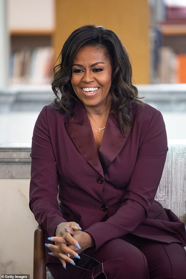 Not worthy:While it's unclear when the show will debut yet, Obama told Entertainment Tonight that she felt she wasn't 'worthy' of Davis portraying her