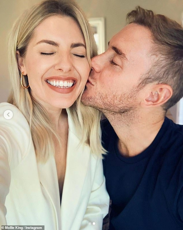 Back together! Last week Mollie was thrilled to finally be reunited with her fiancé Stuart Broad after he spent 10 weeks abroad on tour with the England cricket team
