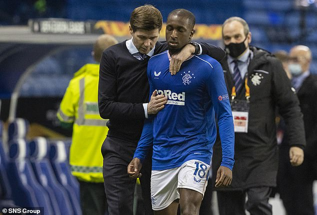 Rangers boss Steven Gerrard urged UEFA to take swift and decisive against the Slavia player