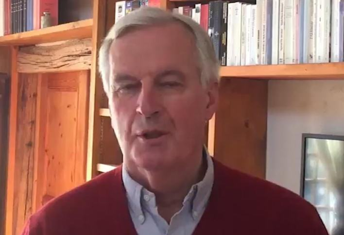 The EU's chief Brexit negotiator Michel Barnier tested positive for coronavirus, insisting he was 'doing well and in good spirits' despite the news.