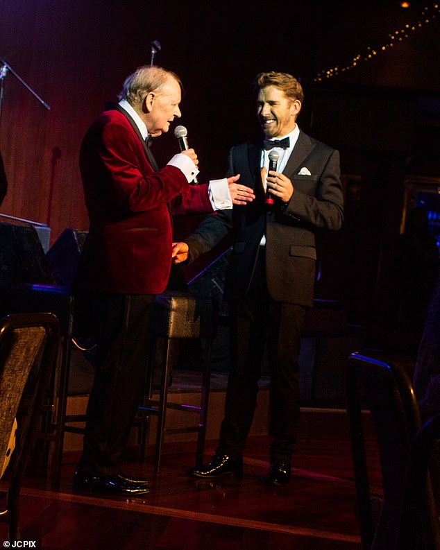 Thoughts and prayers: Hugh Sheridan's father, veteran Adelaide swing singer Denis Sheridan has passed away at the age of 76