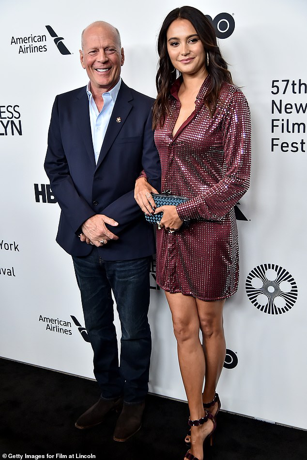 Moving on: The actor and his current wife have been happily married since 2009; the two are spotted at theu00A057th New York Film Festival in 2019