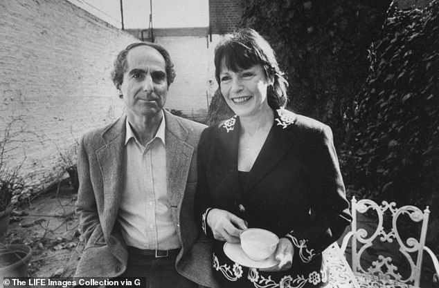Philip Bloom, left, is pictured with ex-wife and actress Claire Bloom- who has previously made her own claims of misogyny in her own memoir