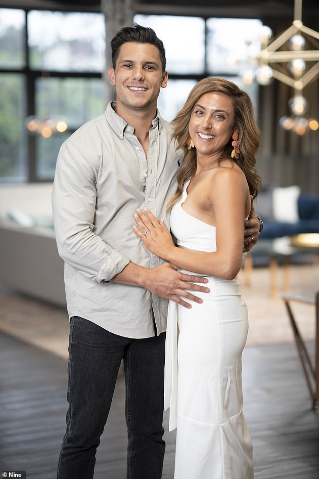 Taking it slow:The intruder couple were married during last Monday's episode. They are getting along well but the physical side of their relationship is taking longer to develop
