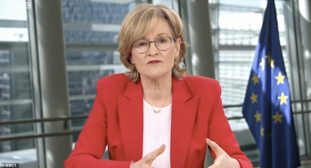 European Commissioner for financial services Mairead McGuinness said 'everything is on the table' and the EU's focus is on 'protecting our citizens'