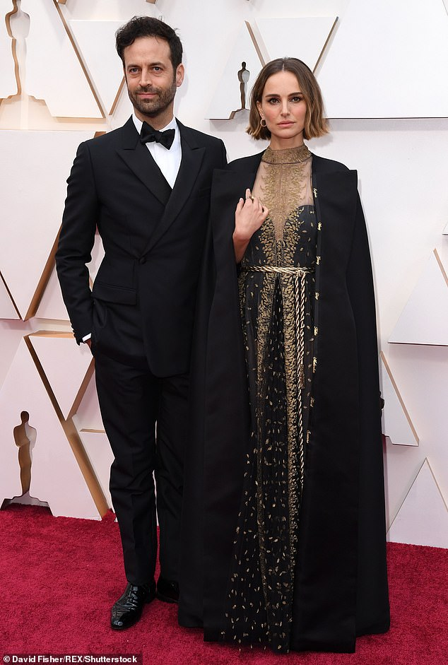 Origin story: 'I met director Benjamin Millepied through his wife Natalie Portman, who was working with Chris [in Thor],' explained the Fast Five actress. Natalie and Benjamin pictured in 2020