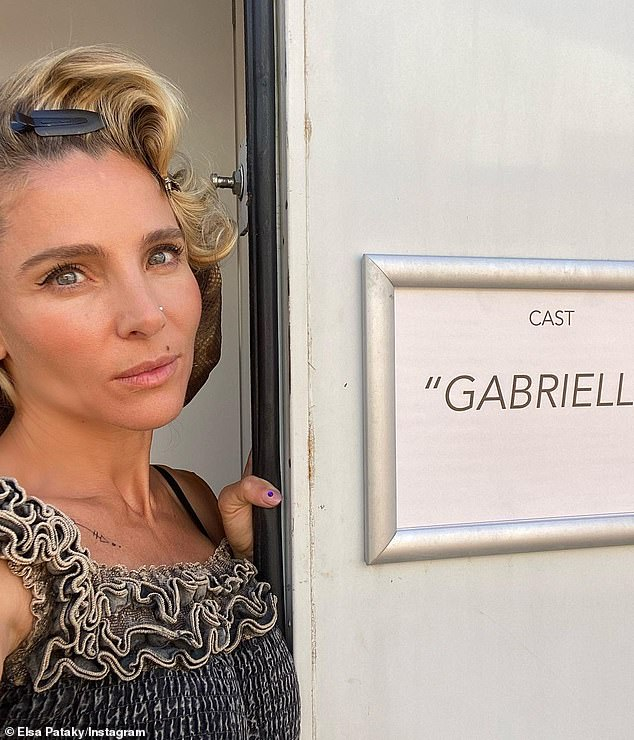 Next gig: Elsa Pataky [pictured last month] has revealed just how she got the role she was 'dying' to play in a new interview with Sunday Life