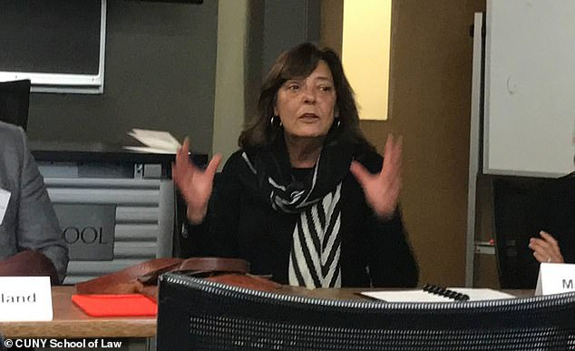 Bilek (pictured in 2016) had already announced plans to step down in June,u00A0but now has she detailed the reason behind her departure