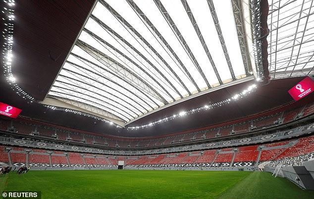 The Al Bayt stadium, built for the 2022 FIFA World Cup in Al Khor, north of Qatar's capital Doha