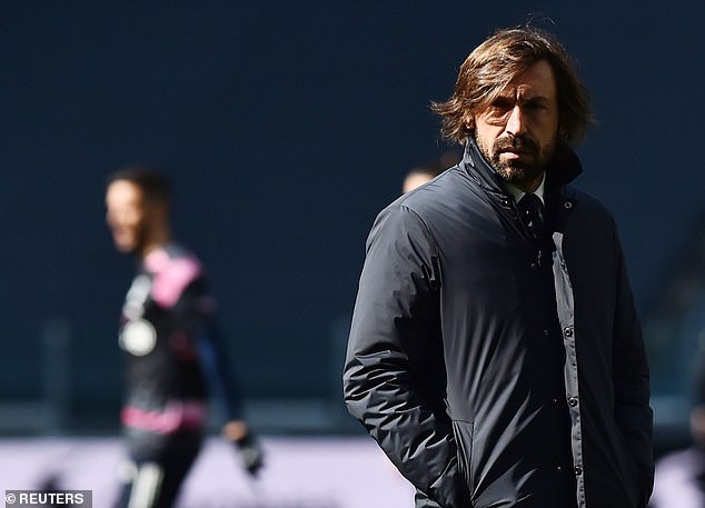Allegri also offered support to current Juve boss Andrea Pirlo, claiming he is 'doing well'