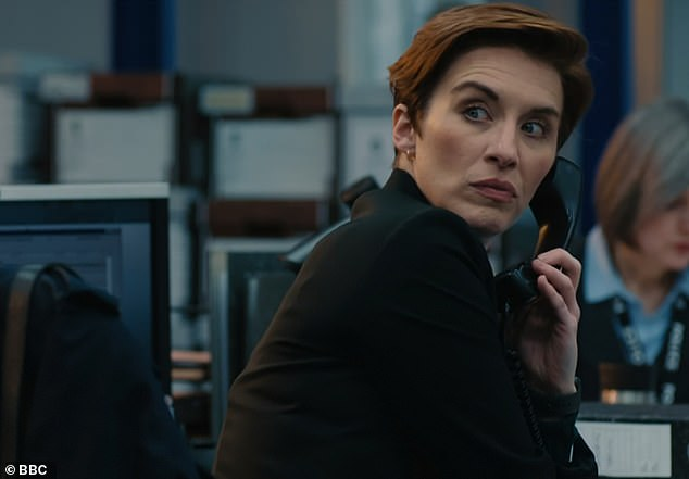 Kate's back!Line Of Duty's series six premiere became the third most watched show of the year on Sunday, with nearly 10million viewers tuning in for the return of AC-12 (above Vicky McClure)