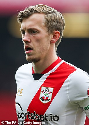 Southampton skipper James Ward-Prowse is on par with his English teammate Grealish