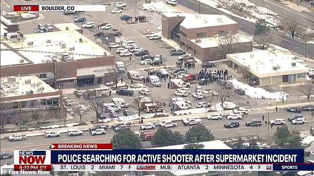Colorado authorities are responding to an active shooter situation at a supermarket in Boulder