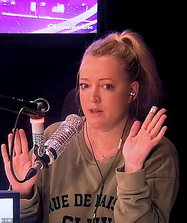 Slammed:Jackie 'O' Henderson (pictured) has been roasted by American radio duo Cooper Lawrence and Anthony Michaels over her Candy Crush 'addiction'