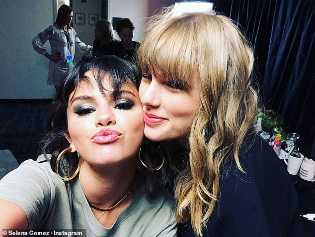 Lots of love: Both have publicly remarked over the other on many occasions, Gomez promising in 2019 'I'm on your side for life'; pictured May 2018