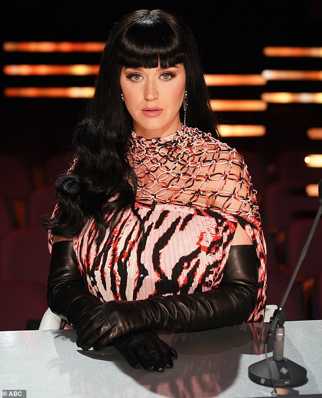 Tough mom:Katy Perry called herself a 'tough mom' as she judged two teenage contestants on Monday's second Hollywood episode of American Idol