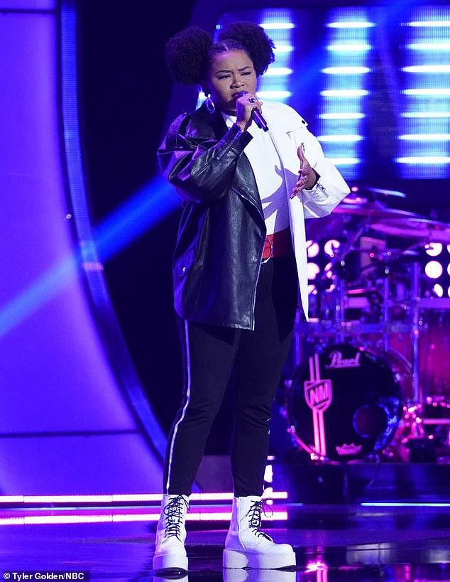 Team complete:Denisha Dalton, 22, from Warwick, New York, was the last contestant John Legend won this season