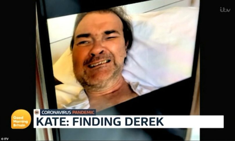 Heartbreaking: Kate Garraway's husband Derek Draper husband breaks down after waking from his coma in a new teaser for her fly-on-the-wall documentary Finding Derek. His return to consciousness came four months after his hospitalisation