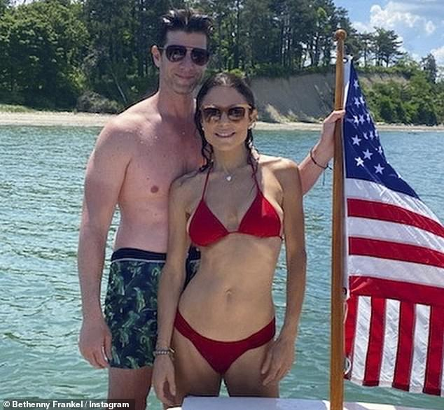 Ready to get married: Bethenny Frankel is said to have become engaged.  Skinnygirl founder set to marry her boyfriend since early 2018, real estate developer Paul Bernon, according to People