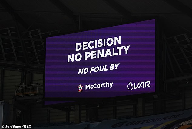 There was a rise in correct decisions from 82 per cent in 2018-19 to 94 per cent last season
