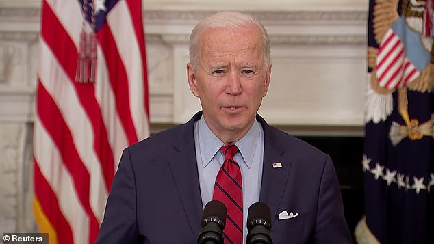 President Joe Biden made remarks Tuesday about the mass shooting in Boulder, Colorado where 10 people were killed